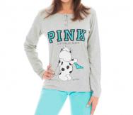 Pijama Pink para mujer M/L. Crazy... - Noumega
