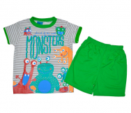 Pijama infantil Monsters. Kinanit - Noumega