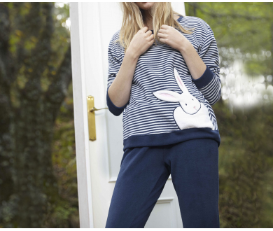 Pijama polar mujer. GISELA - Noumega