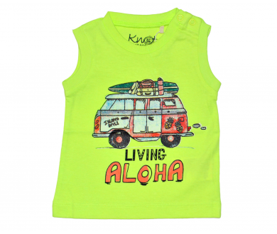 Camiseta Aloha bebé. Knot So Bad - Noumega