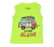 Camiseta Aloha bebé. Knot So Bad - Noumega
