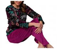 Pijama Coralina Naomi. BH Textil - Noumega