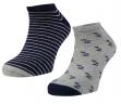 Pack 2 calcetines invisibles fantasía caballero. Ysabel Mora