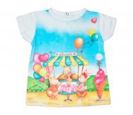 Camiseta Sweets bebé. Carodel - Noumega