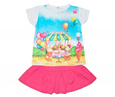 Conjunto Camiseta Sweet+ Falda.... - Noumega