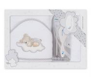 Capa de baño + Peine y Cepillo Bebé - Noumega