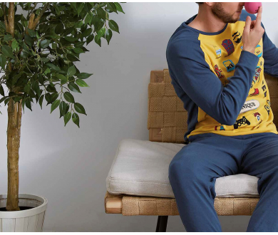 Pijama hombre. Muydemi - Noumega