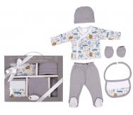 Set regalo 5 piezas 100% algodon - Noumega