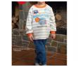 Pijama tundosado infantil Niño. Kinanit