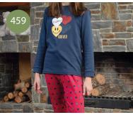 Pijama interlock Niña. Kinanit - Noumega