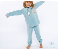 Pijama micropolar niña. Muydemi - Noumega