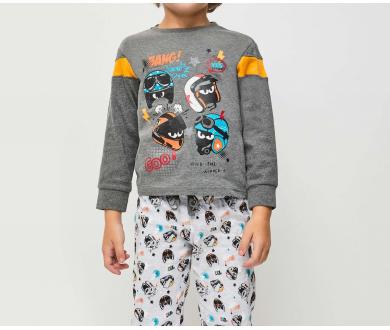 """Pijama infantil interlock """"Bang"""".... - Noumega"""