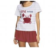 Pijama algodón Love Nature. Olympus - Noumega