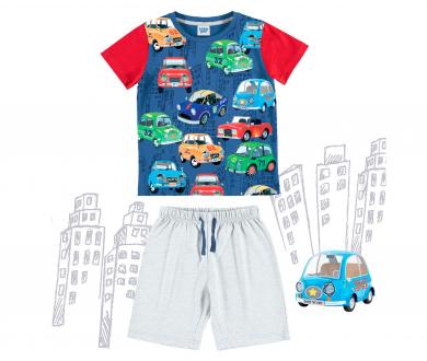 """Pijama infantil interlock """"Cars"""".... - Noumega"""