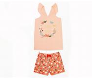 Pijama LILA infantil niña. Ctm STYLE - Noumega