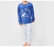 """Pijama infantil tundosado """"T-Rex"""".... - Noumega"""