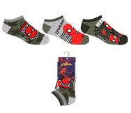 Pack 3 Calcetín niño Spiderman - Noumega