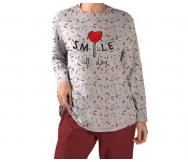 Pijama interlock mujer. Olympus - Noumega