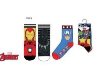 PACK 3 calcetines Avengers Sun City - Noumega